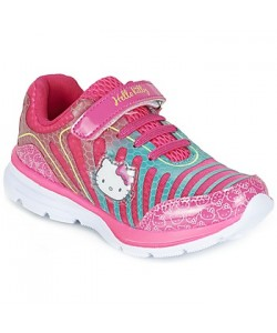 Baskets mode Fille Hello Kitty FUMORA Fuchsia - Chaussure pas cher avec Chaussures Baskets basses Enfant 2990  wQGoPqMs